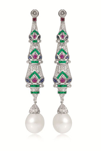St Sea Pearl earrings - Jemme