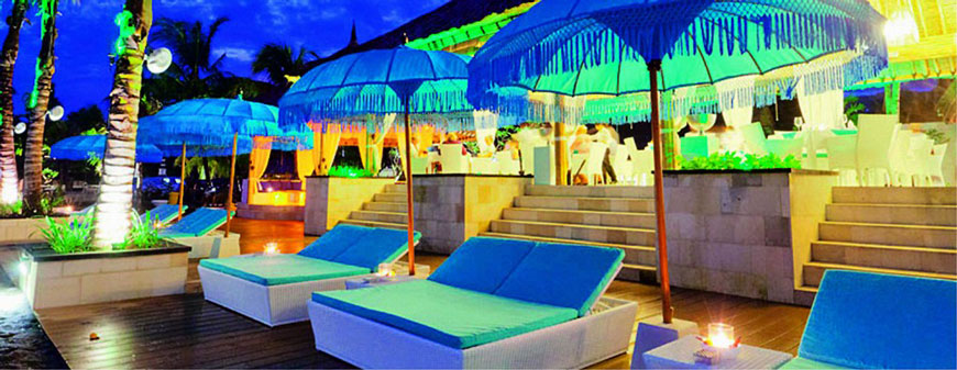 Beach Clubs - Spice Beach Club Bali