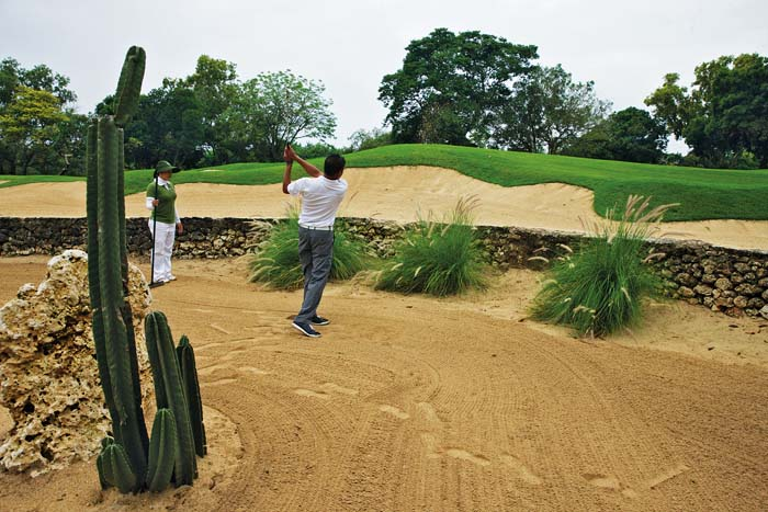 Bunker Shot - Courtesy of Bali National