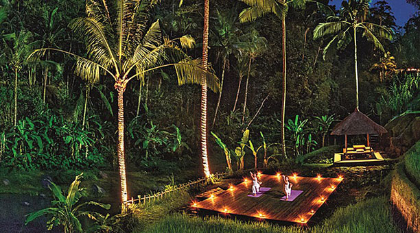SS - Full Moon Yoga at Four Seasons Sayan