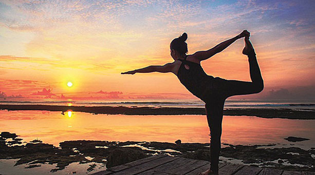 SS - Sunset Yoga at Anantara Uluwatu