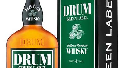 drum green label