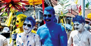 The Painted Boys of Tegallalang