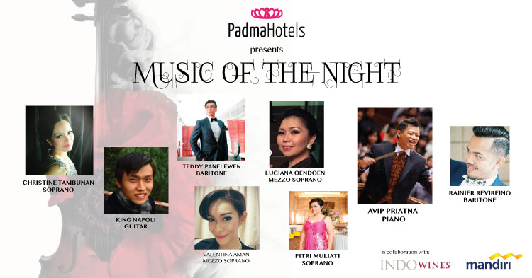 Music of the night at Padma Bali