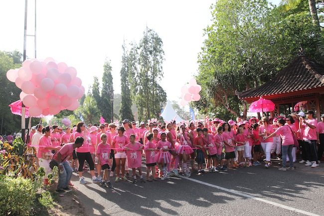 Bali Pink Ribbon Fun Walk and Run