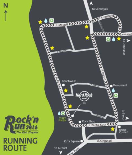 hard rock hotel bali rock and run