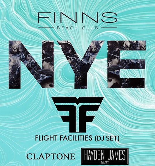 New Years Eve Party Finns Beach Club Bali