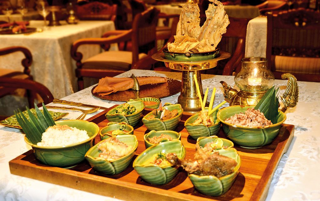 Raja's Traditional Megibung at Nusa Dua Beach Hotel