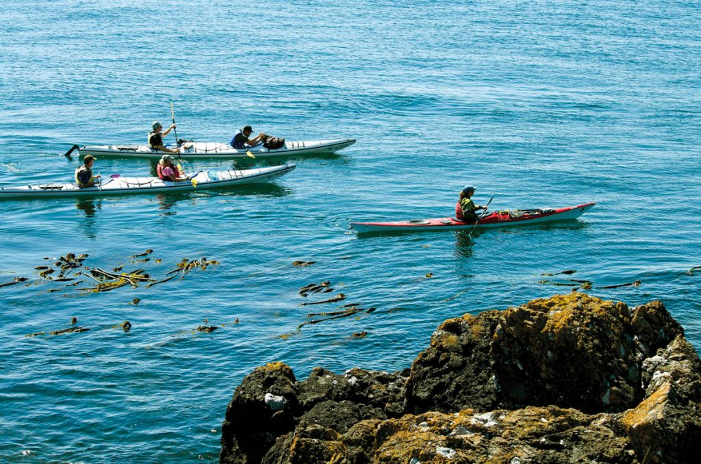 Sea Kayaking at Nusa Penida