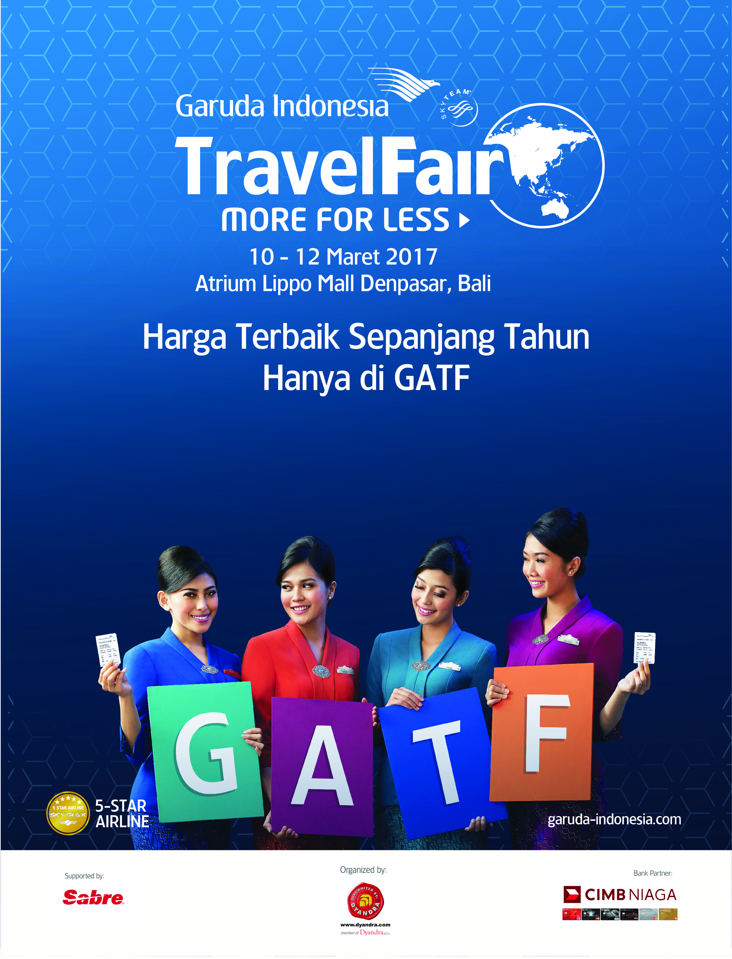 Garuda Travel Fair Flyer