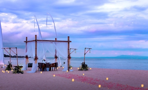 Romantic Dinner for Valentines in Bali