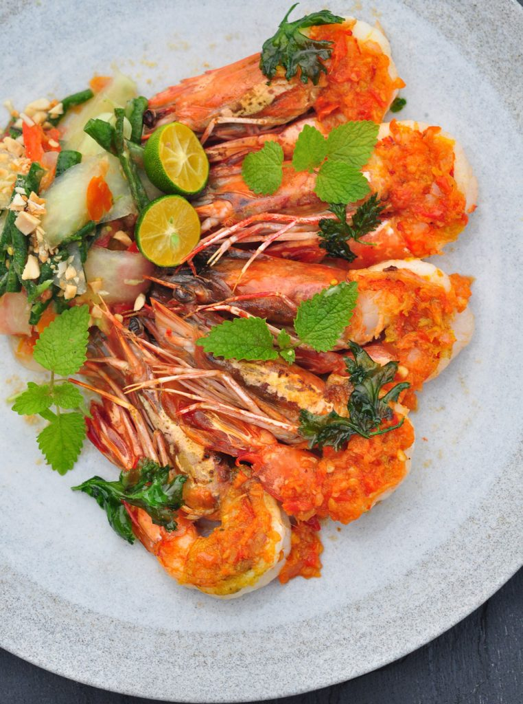 Theme---International-Food----Lunch---Sundara---Grilled-King-Prawns
