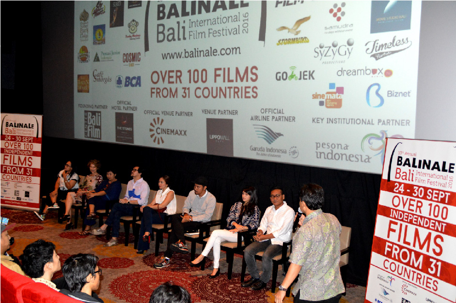 1. Press Conference in Jakarta with Filmmakers
