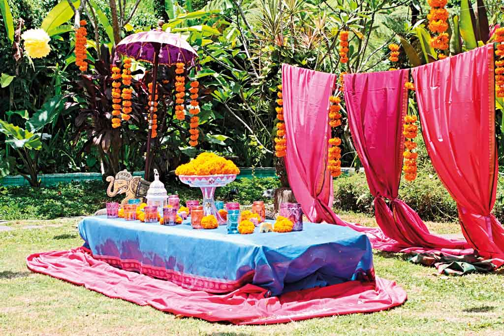 Planning a kids party in bali now bali for Balinese decoration