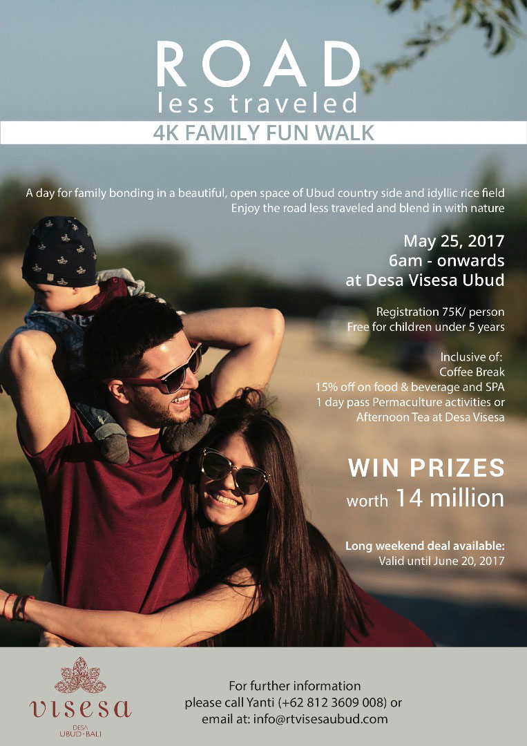 Desa Visesa 4km Family Fun Walk 2