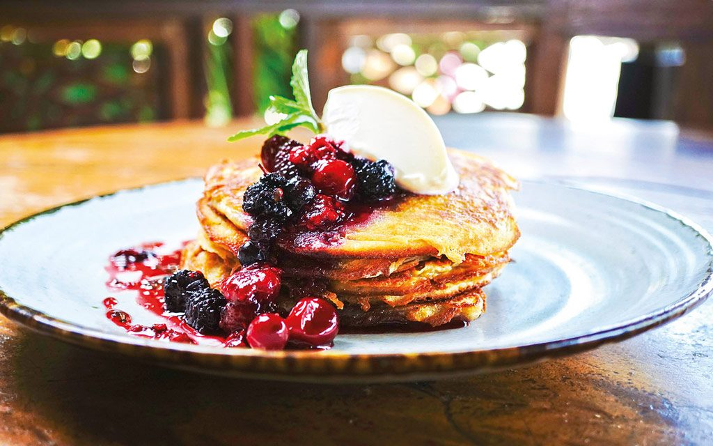 Theme---Wellness---Food---KAFE--buckwheat-pancakes-with-berry-compote