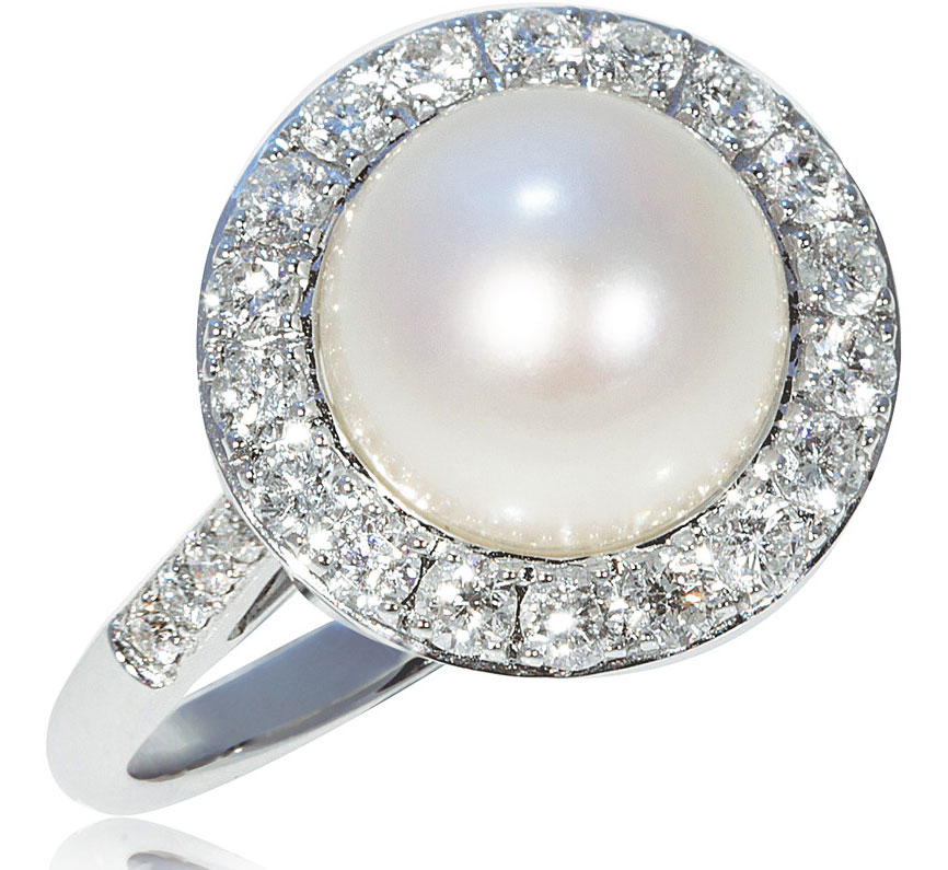 Pearl-Diana-Ring