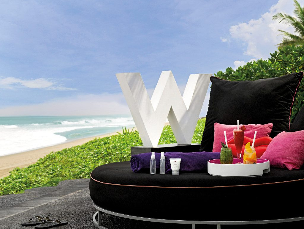 Theme - WTG - beachfront venue - WOOBAR Daybed