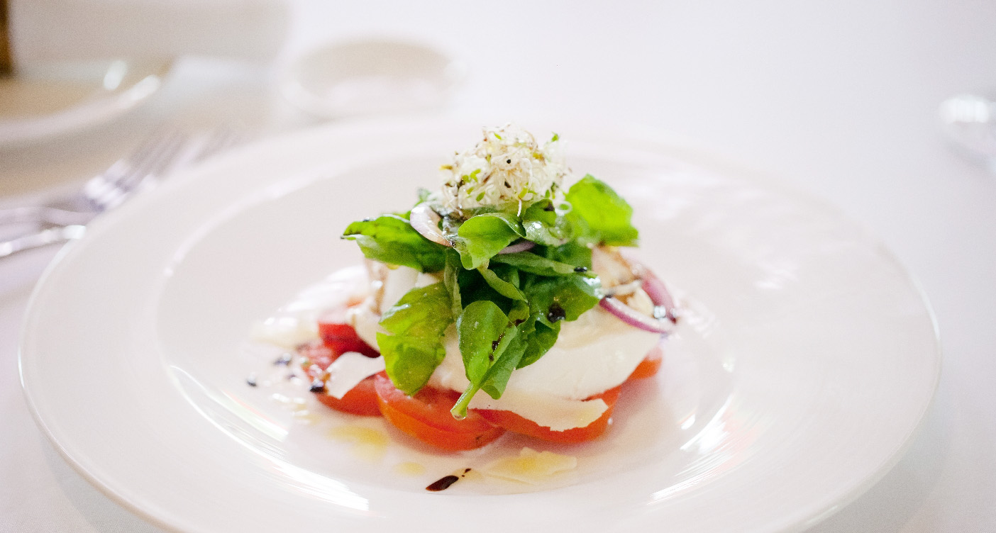 Perfectly prepared Caprese