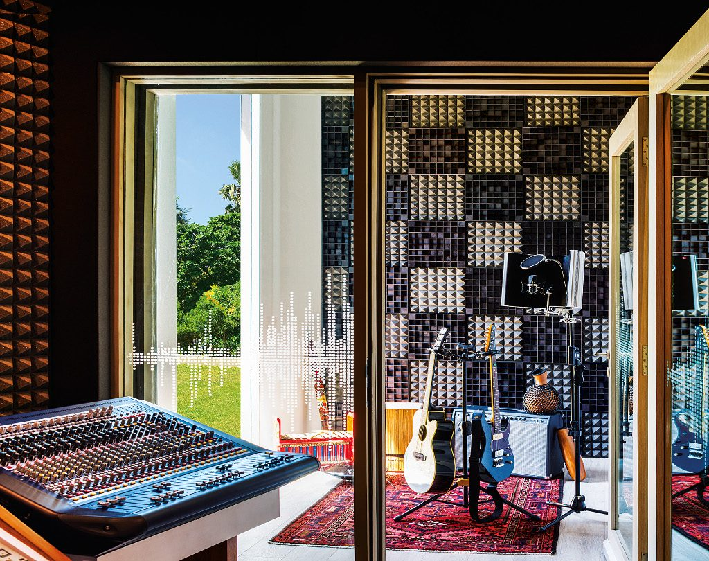 Music Studio Voice Room