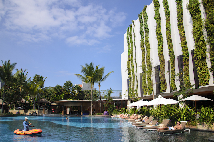 The Stones Hotel Bali Pool 2