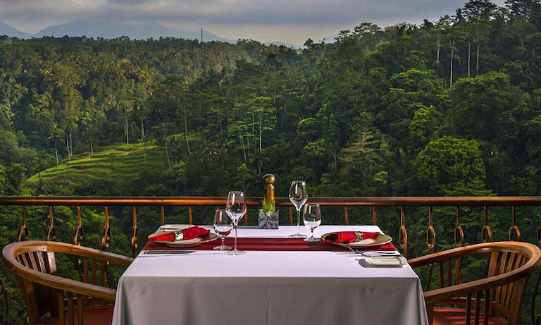 Wijaya Kusuma Restaurant at Ayung Resort Ubud 23