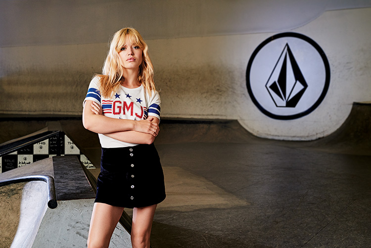 Georgia May Jagger Volcom