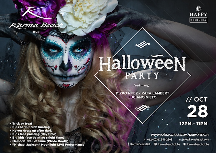 Halloween in Bali 2017: Parties and Celebrations