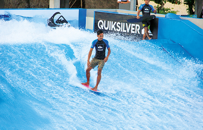 Theme - WTD - water sports - flow boarding - photo courtesy surf & turf