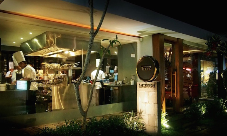 A bite back in time: teatro gastroteque anniversary dinner now! bali