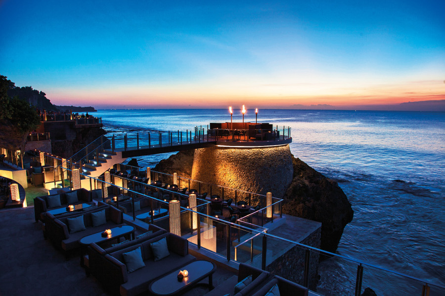 Theme - WTG -Nusa Dua & Jimbaran - ROCK BAR - EXTENSIONS DURING SUNSET