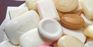 Soap for Hope Hotel Soap Used