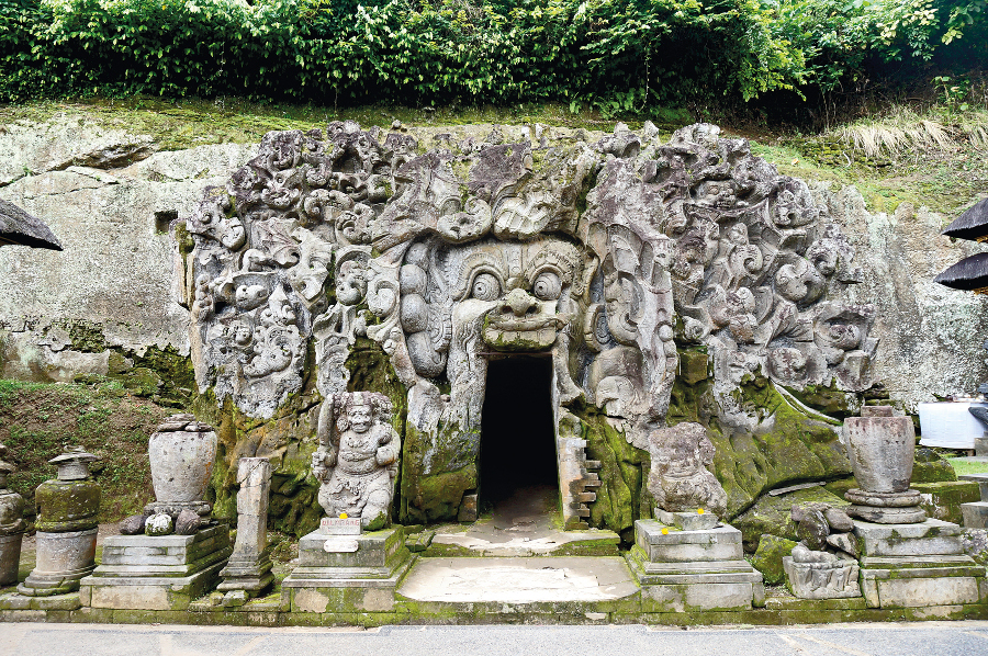 Goa Gajah Entrance. Photo by Namhar