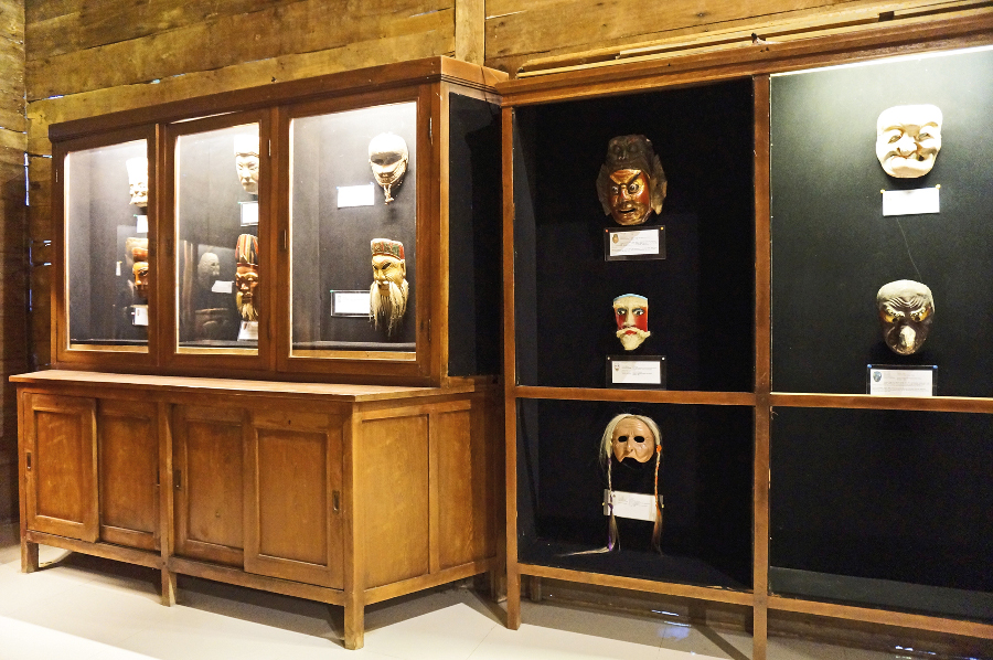 A Display Room Setia Darma House of Masks and Puppets