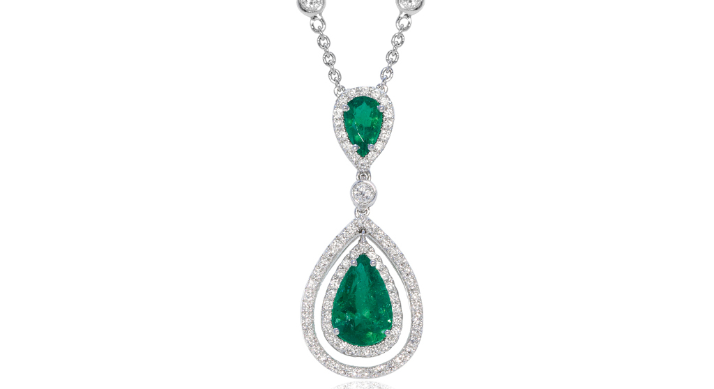 Shopping - Jemme - EMERALD AVA PENDANT