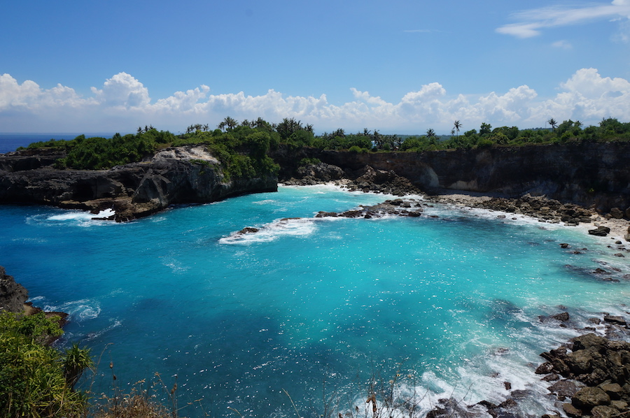 Nusa Ceningan Islands off of Bali
