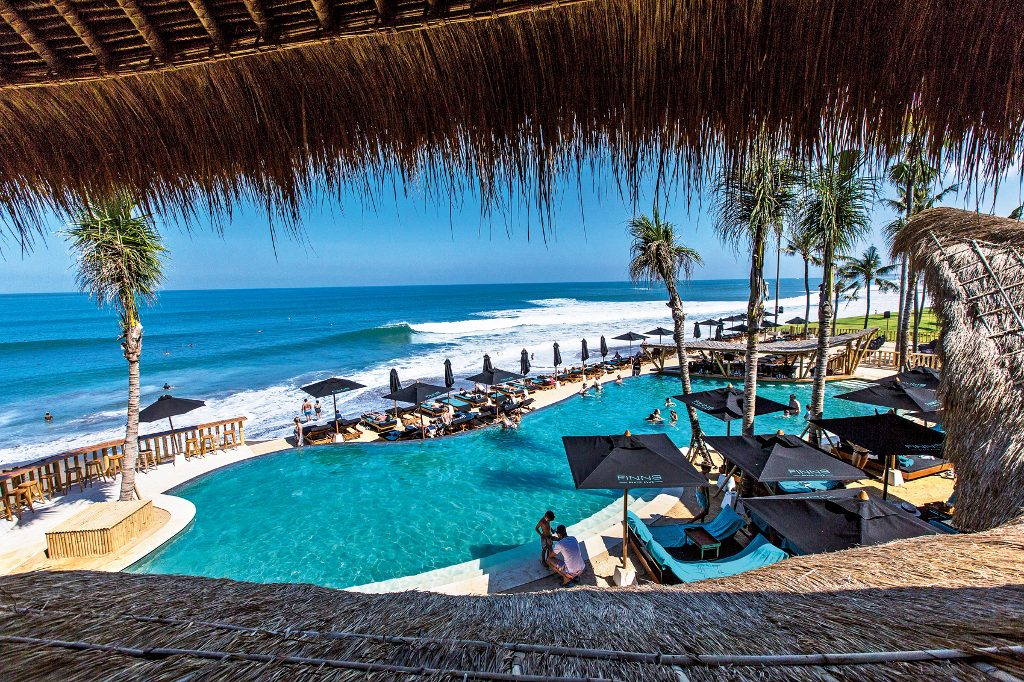 Bali Beachfront Restaurants - Finns Beach Club
