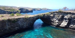 Nusa Penida Islands off of Bali