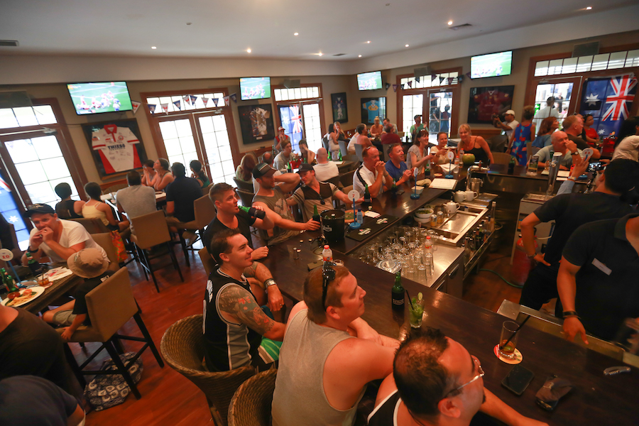 Where to Watch the World Cup in Canggu Finns Recreation Club 2
