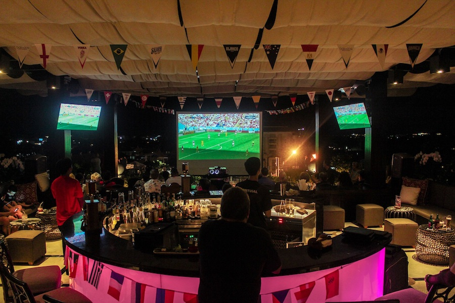 Where to watch the world cup in Bali Trans Resort Seminyak