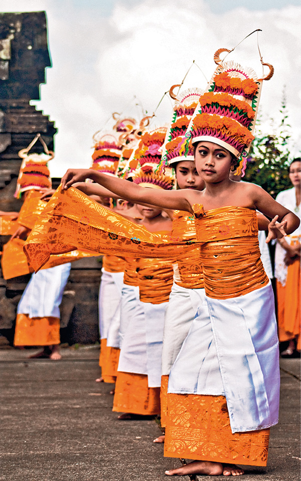Welcoming Ritual of Balinese Dances