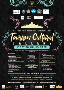 Tourism Cultural Gallery in Bali 2018