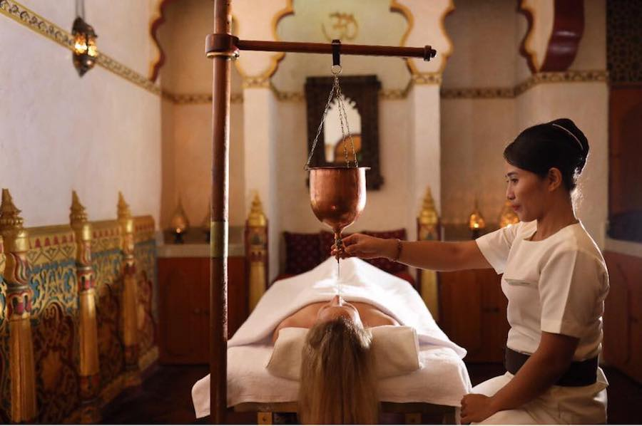 Prana Spa Bali Ayurvedic treatment