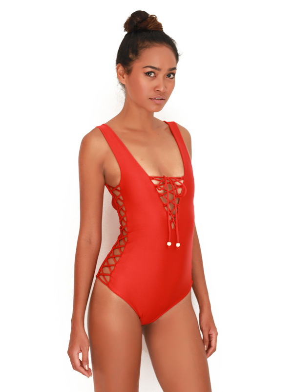 one-piece-isola-bella-red