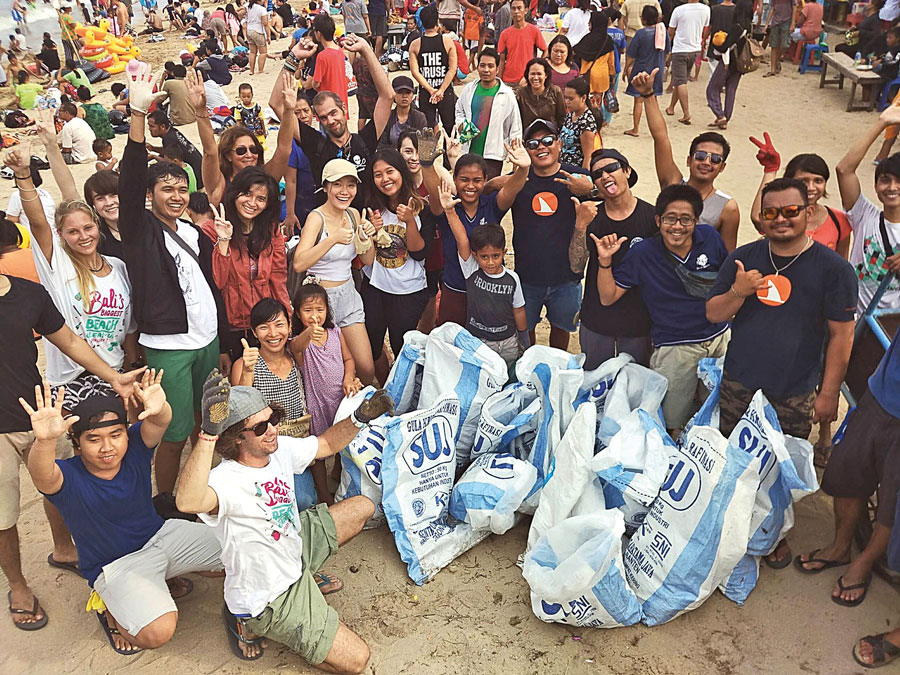 Bali Biggest Clean Up Sanur