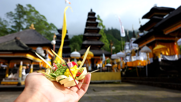 Balinese Offering NOW Bali Magazine