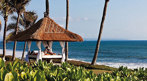 Nirwana Spa - Spa treatment at the Bale by the beach of Pan Pacific Nirwana Bali Resort copy