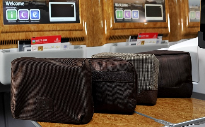 New Bvlgari amenity kits in Emirates First and Business Class