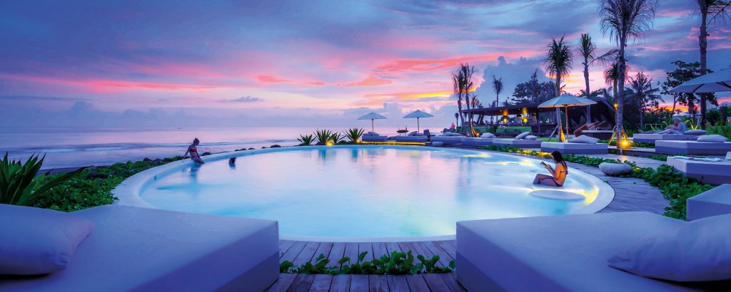 Beach clubs in Bali - Komune Beach Club Keramas