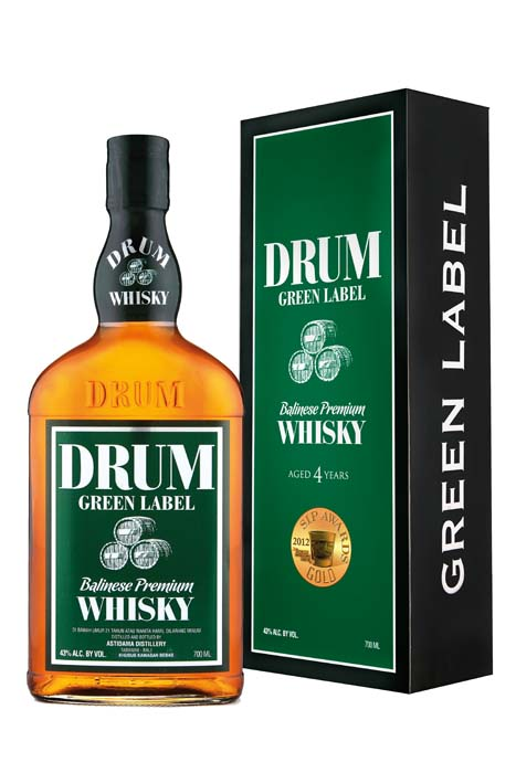 Drum Whisky Made in Bali